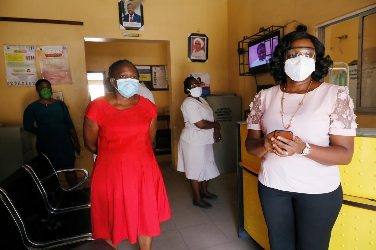 Nigerian virus hunters run hard race against COVID-19's spread