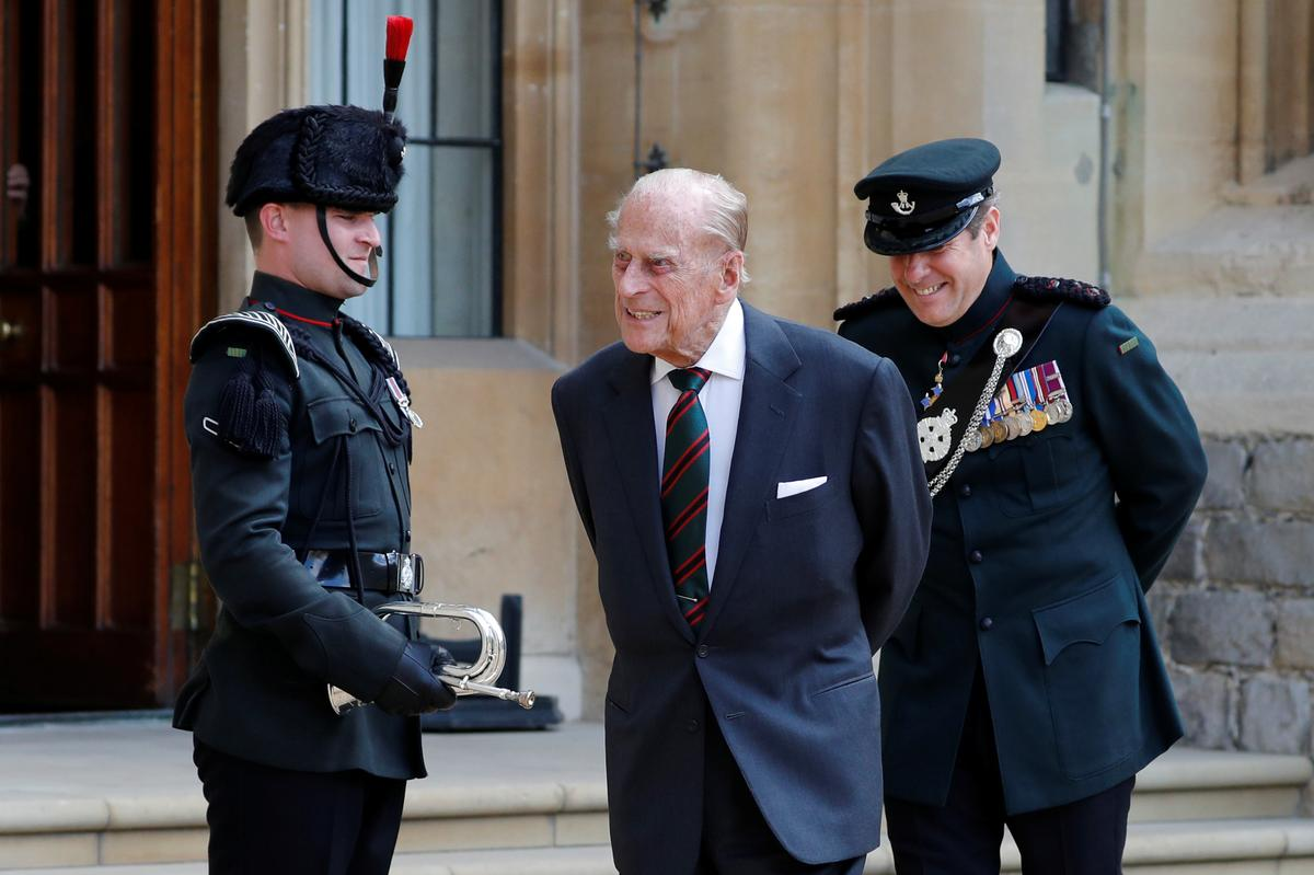 UK's Prince Philip hands over patronage of the Rifles after 67 years – Reuters