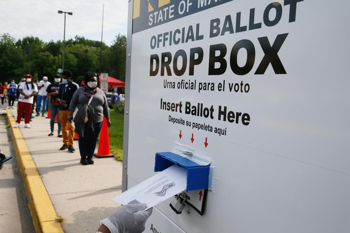 Majority of registered voters oppose U.S. election delay