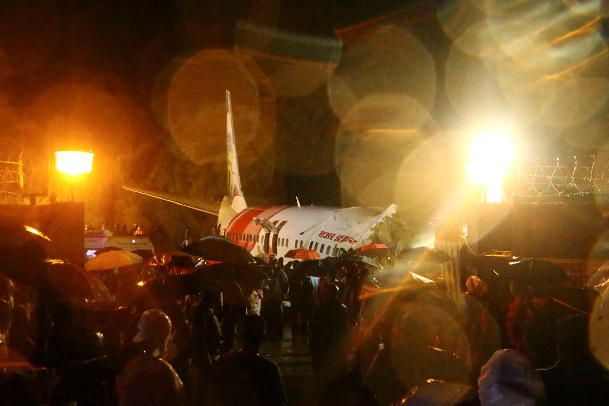 Air India Passanger Flight Crash-lands, At Least 17 Killed