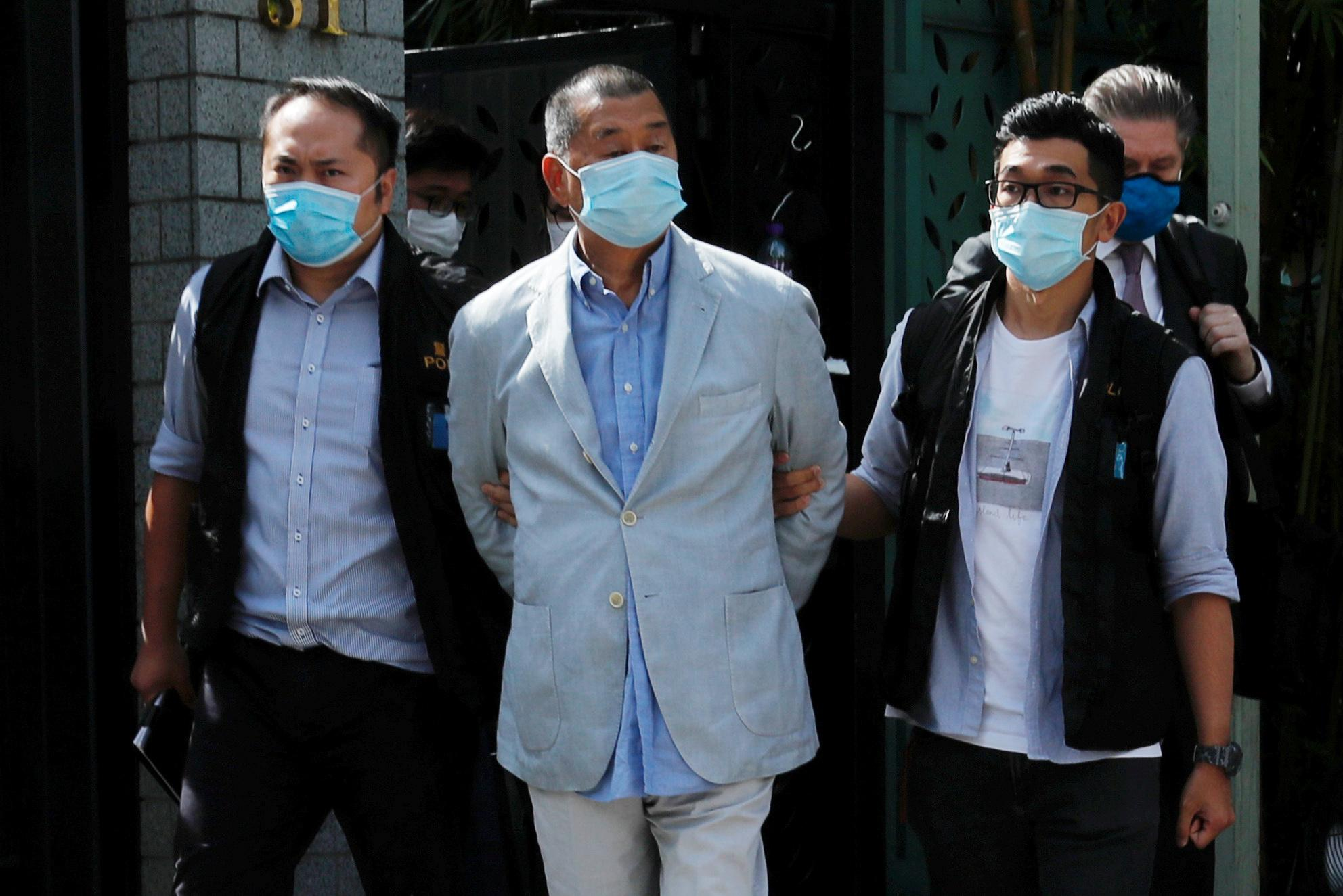Hong Kong tycoon Jimmy Lai arrested under security law, bearing out 'worst fears' - Reuters