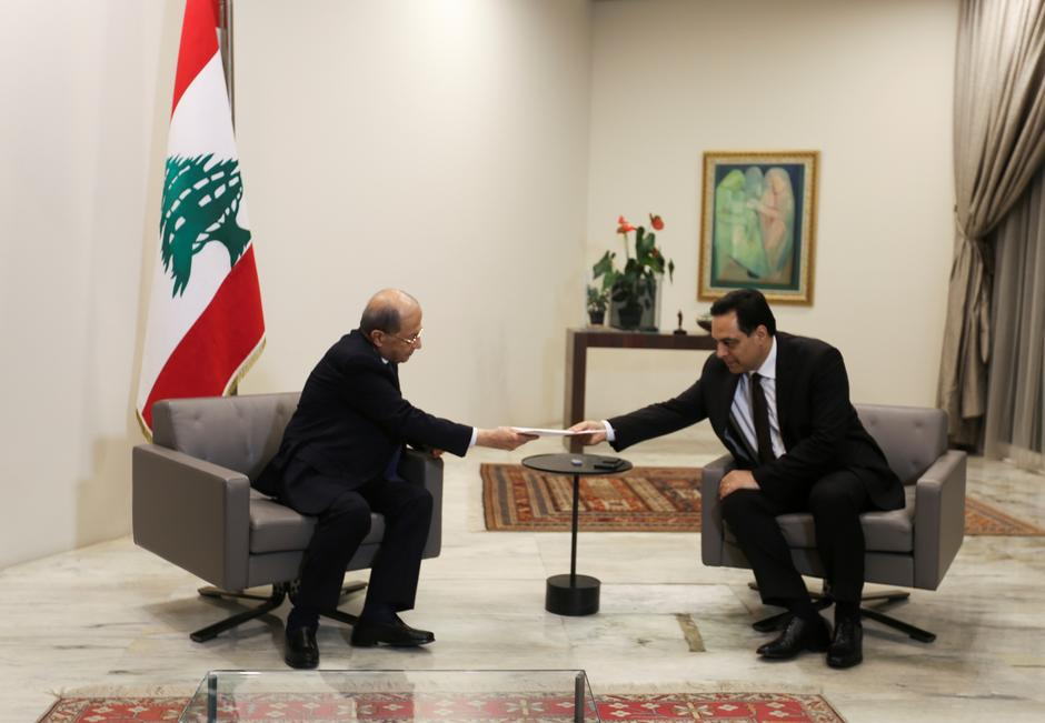 Lebanese PM Resigns Government and Blames Beirut Blast on Endemic Corruption