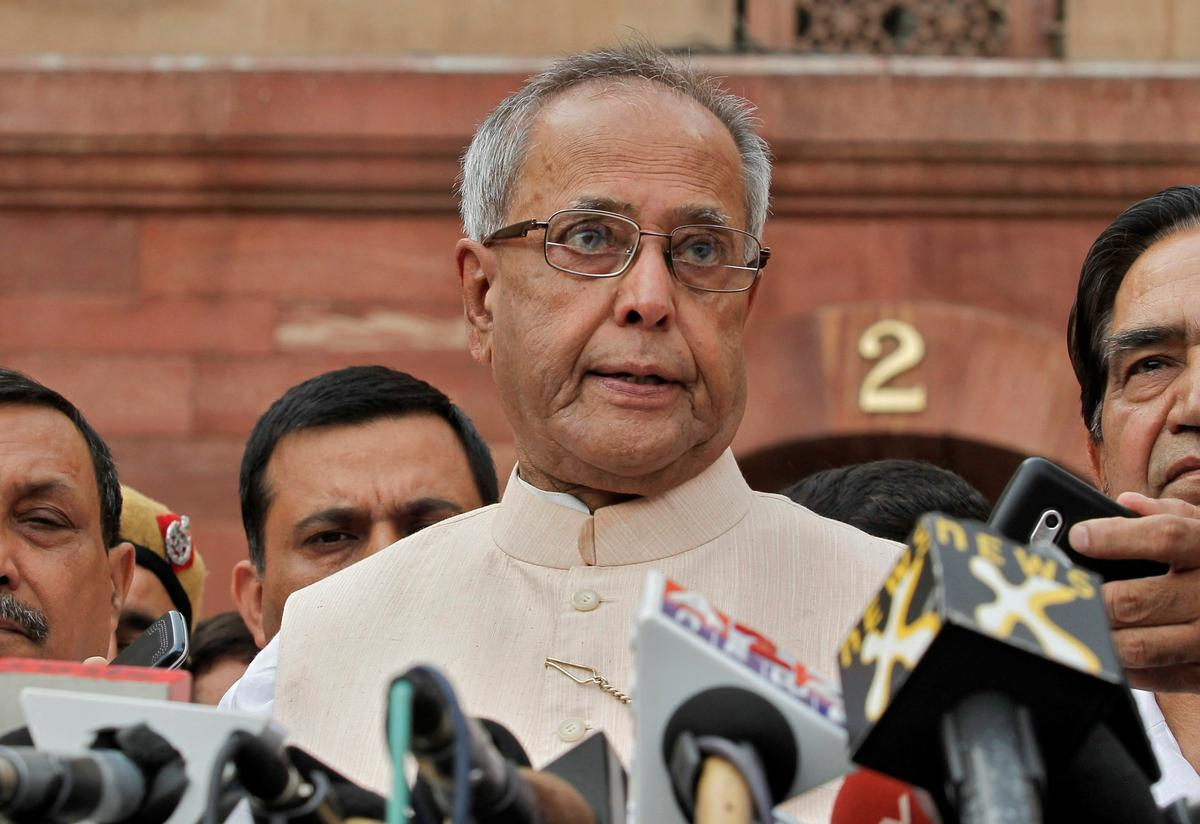 Former Indian president Pranab Mukherjee contracts COVID-19 as infection surge continues
