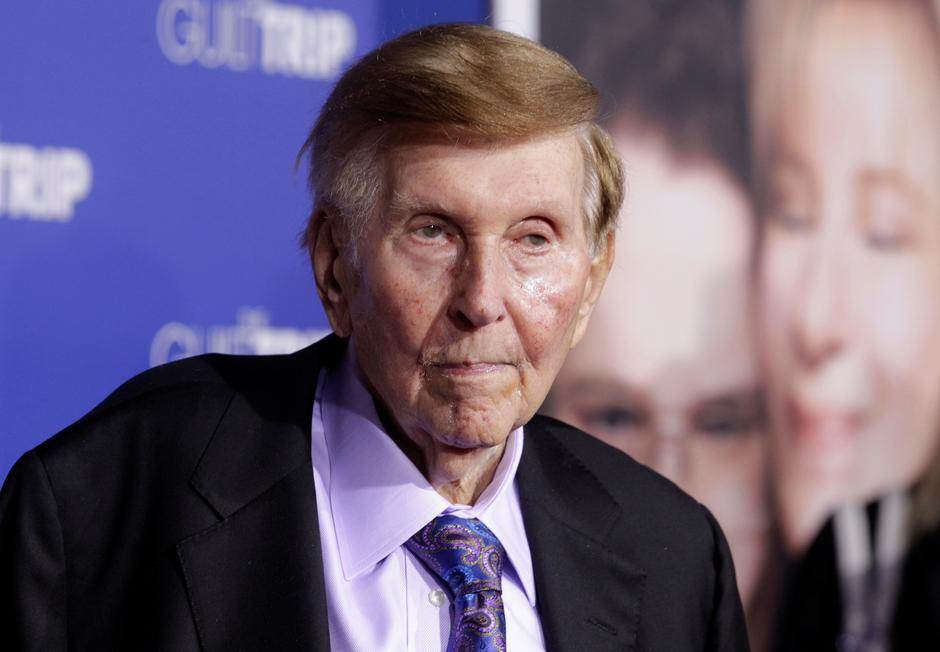 Billionaire Mogul Whoremonger Sumner Redstone Who Said He Would Never Die is Dead
