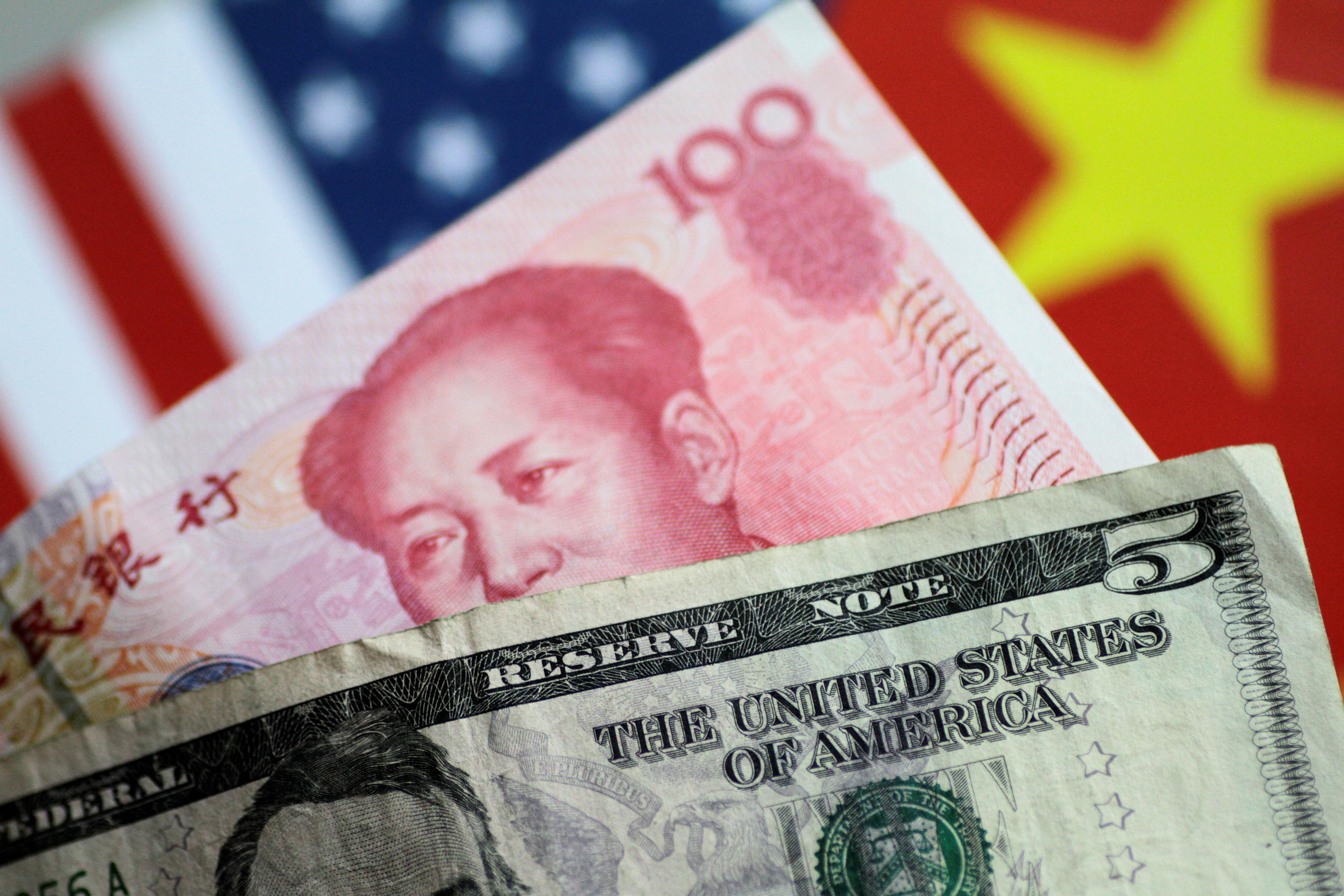 Dollar on backfoot amid economic doubts, yuan shines