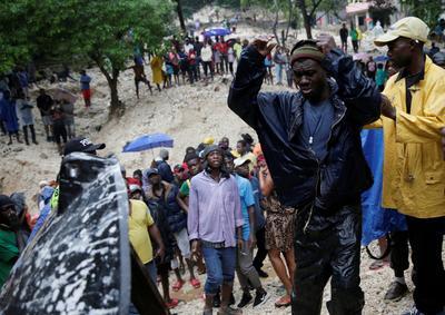 Tropical Storm Laura pummels Haiti