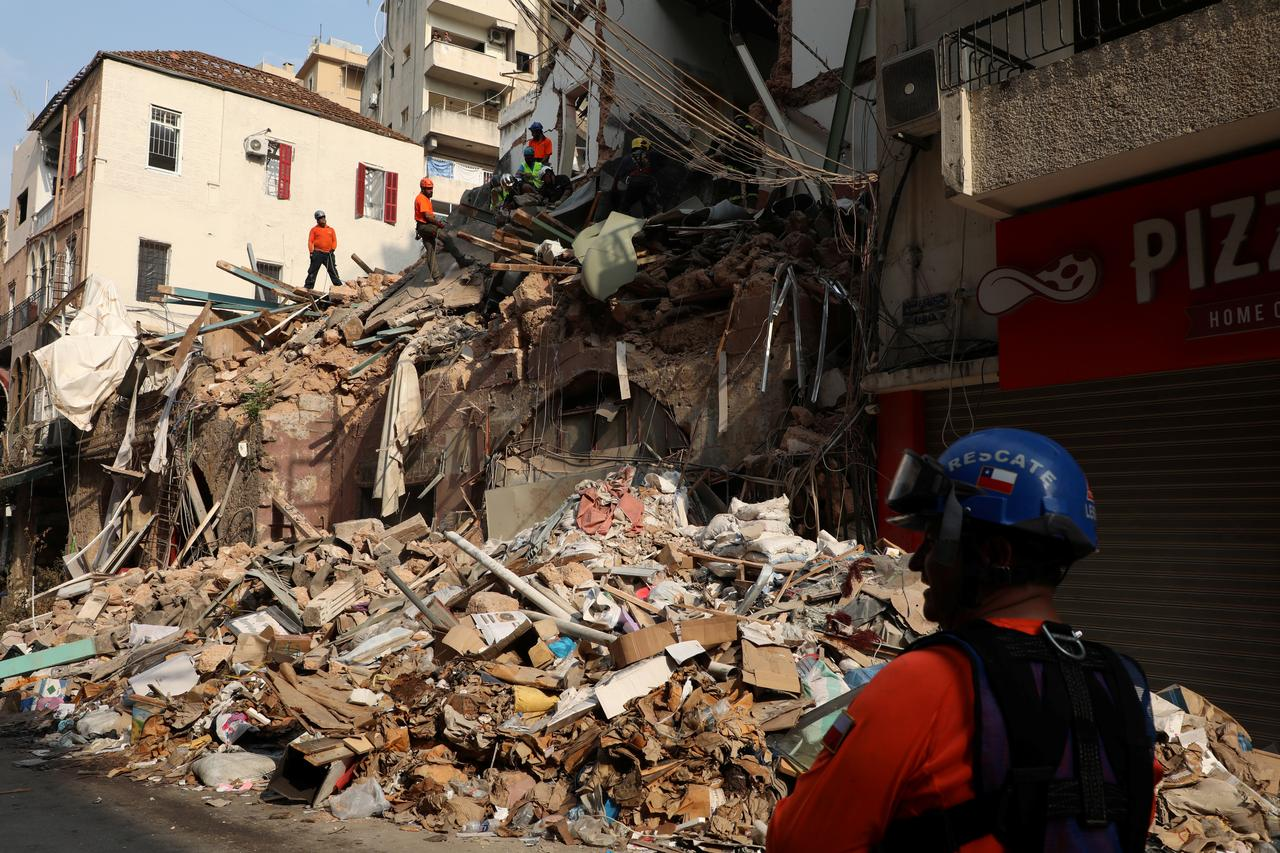 More Explosives Found, Rescue Workers Report Signs of Life as Beirut Blast Investigation Continues