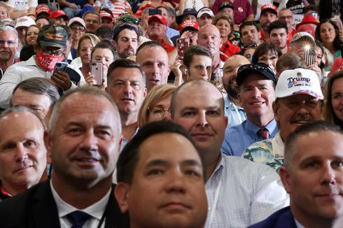Trump holds campaign rally indoors despite coronavirus concerns