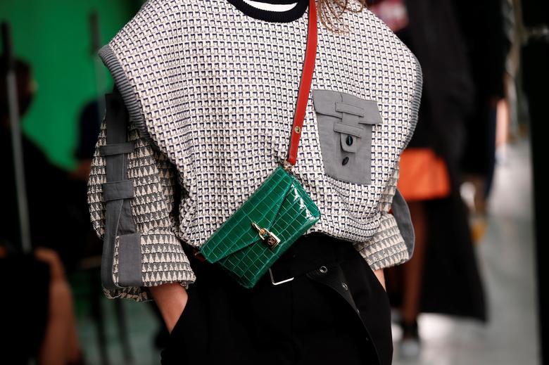 Nicolas Ghesquiere for Louis Vuitton. REUTERS/Benoit Tessier