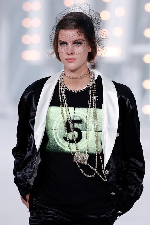 Virginie Viard for Chanel. REUTERS/Benoit Tessier