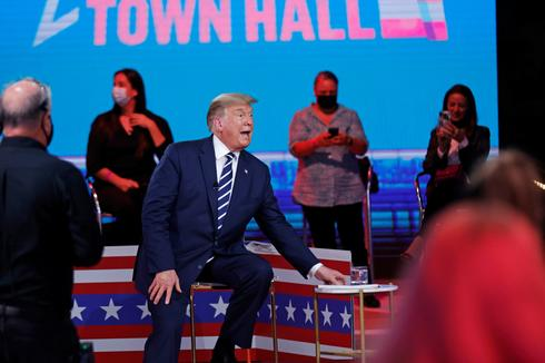 Biden and Trump hold dueling town halls