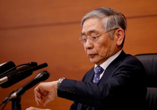 FILE PHOTO: Bank of Japan Governor Haruhiko Kuroda attends a news conference in Tokyo, Japan, January 21, 2020. REUTERS/Kim Kyung-Hoon