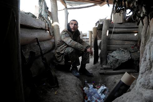 On the frontlines of the Nagorno-Karabakh conflict