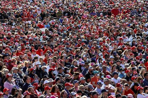 Inside Trump's packed mega-rallies