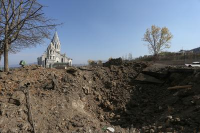 Civilians in crossfire as Nagorno-Karabakh conflict deepens