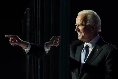 Joe Biden celebrates election victory in Delaware hometown