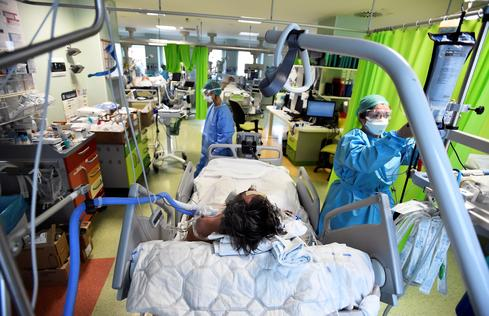 Inside Europe's intensive care units amid second COVID wave
