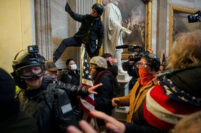 Inside the U.S. Capitol as siege unfolded