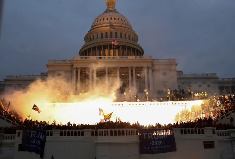 Swarms of Trump supporters storm U.S. Capitol | Reuters.com