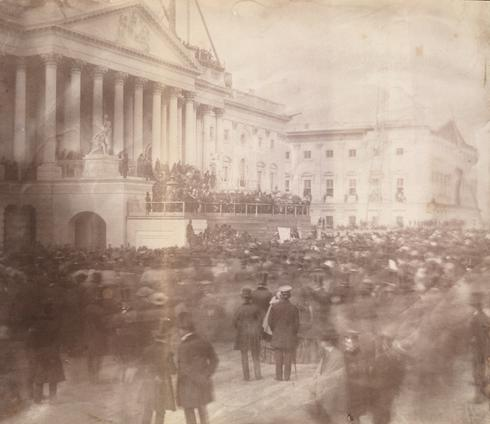 Taking the oath: Scenes from past presidential inaugurations