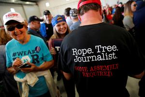'Enemy of the people': Trump's relationship with the media