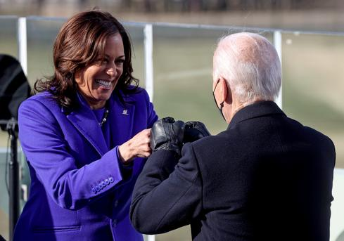 Vice President Kamala Harris makes history