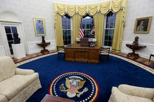 Inside Joe Biden's redecorated Oval Office