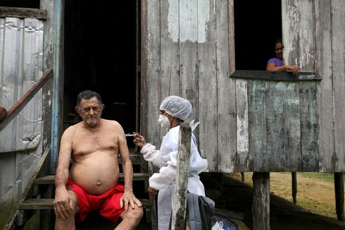 Brazil starts vaccinating Amazon River residents