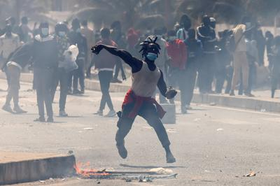 Protesters clash with police as Senegal opposition leader arrested over rape allegations