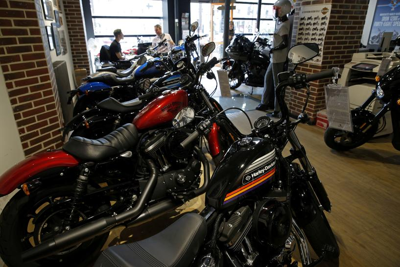 Harley Borrows Detroit's Used-car Playbook To Pursue Younger Riders