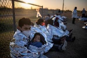 Migrant children at the U.S. border
