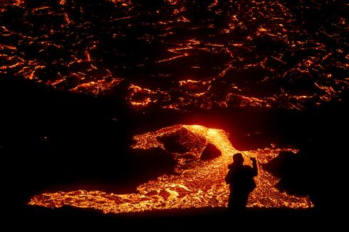 Iceland volcano erupts after weeks of seismic activity