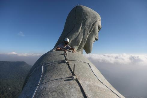 Restoring Brazil's iconic Christ the Redeemer statue
