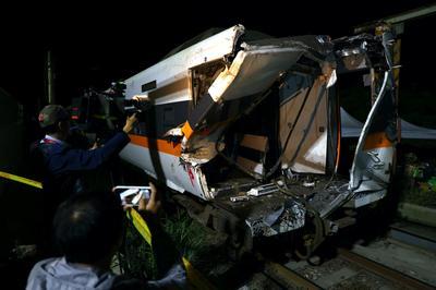Train crash kills at least 50 in Taiwan's deadliest rail tragedy in decades