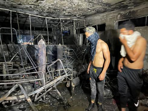 Exploding oxygen tank sparks deadly fire at COVID hospital in Baghdad