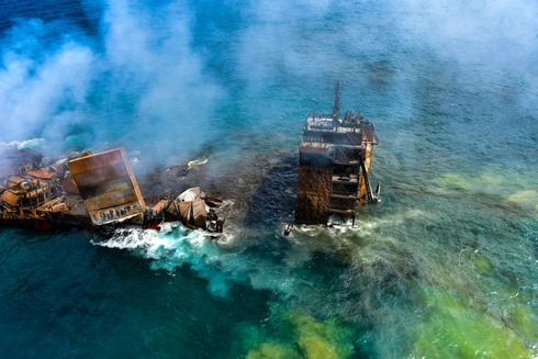 Container ship sinks off Sri Lanka two weeks after massive fire