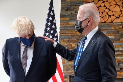 Biden takes first trip abroad as president