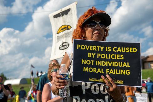 West Virginians march to pressure Manchin