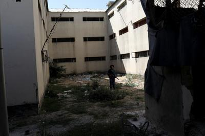 Once filled with Taliban inmates, Kabul prison now abandoned