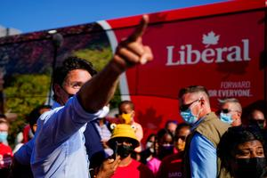 Canada's Trudeau and rivals make final sprint to election day