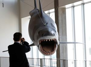 Iconic movie props go on display in Hollywood