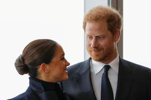 Harry and Meghan visit New York City